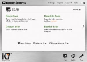 Enlarge K7 Internet Security Screenshot