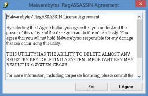 Enlarge Malwarebytes RegASSASSIN Screenshot
