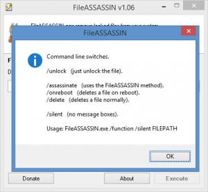 Enlarge Malwarebytes FileASSASSIN Screenshot