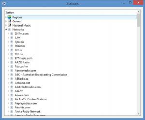 Enlarge TapinRadio Screenshot
