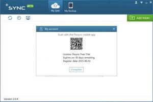 Enlarge Plusync Screenshot