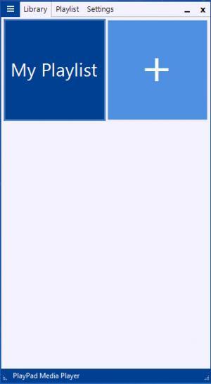Enlarge PlayPad Media Player Screenshot
