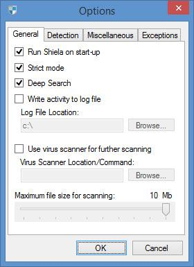 Enlarge Shiela USB Shield Screenshot