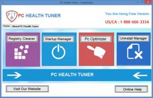 Enlarge PC Health Tuner Screenshot