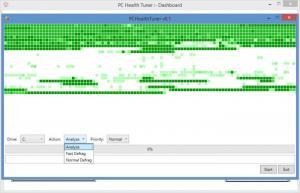 Enlarge PC Health Tuner Screenshot