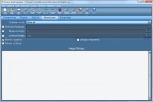 Enlarge Random Word Generator Screenshot