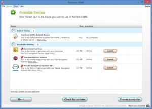 Enlarge TomTom Home Screenshot