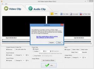 Enlarge Full Video Audio Mixer Screenshot