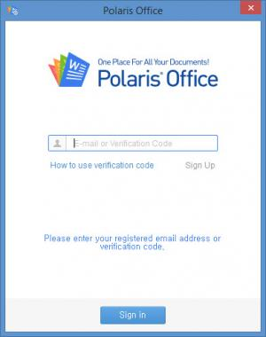 Enlarge Polaris Office Sync Screenshot