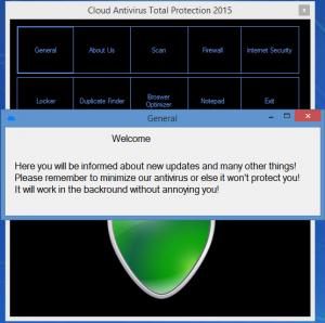Enlarge Cloud Antivirus Total Protection Screenshot