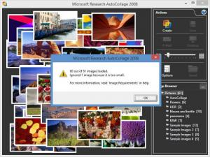 Enlarge Microsoft Research AutoCollage Screenshot