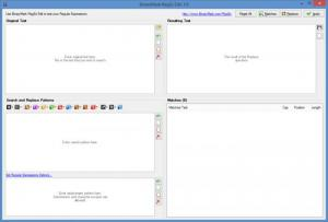 Enlarge BinaryMark RegEx Editor Screenshot