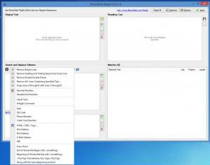 Enlarge BinaryMark RegEx Editor Screenshot