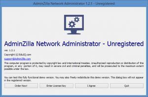 Enlarge AdminZilla Network Administrator Screenshot