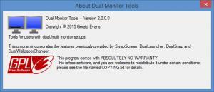 Enlarge Dual Monitor Tools Screenshot