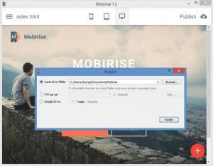 Enlarge Mobirise Screenshot