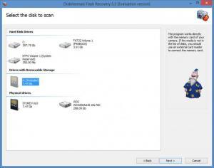 Enlarge DiskInternals Flash Recovery Screenshot