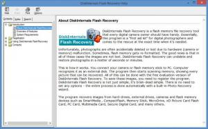 Enlarge DiskInternals Flash Recovery Screenshot