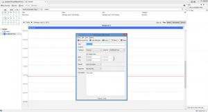 Enlarge Mozilla Lightning Calendar Screenshot