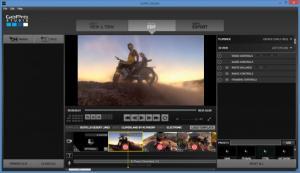 Enlarge GoPro Studio Screenshot
