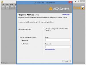 Enlarge ACDSee Free Screenshot