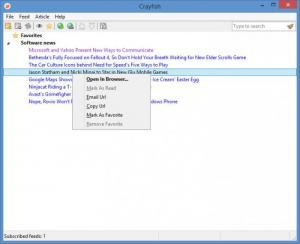 Enlarge Crayfish Screenshot