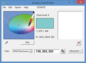 Enlarge Screen ColorPicker Screenshot