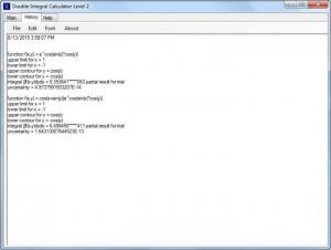 Enlarge Double Integral Calculator Level 2 Screenshot