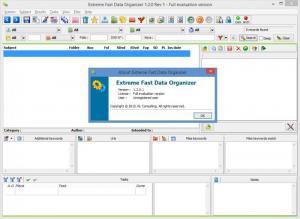 Enlarge Extreme Fast Data Organizer Screenshot
