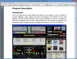 Enlarge e-mix Pro Free Edition Screenshot