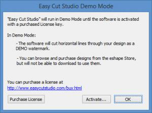 Enlarge Easy Cut Studio Screenshot