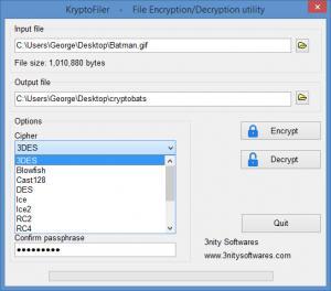 Enlarge KryptoFiler Screenshot