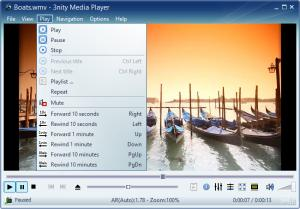 Enlarge 3nity Media Player Screenshot