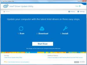 Enlarge Intel Driver Update Utility Screenshot