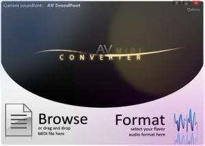 Enlarge AV MIDI Converter Screenshot