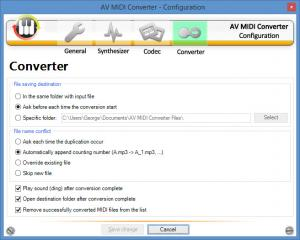 Enlarge AV MIDI Converter Screenshot