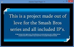 Enlarge Super Smash Flash 2 Screenshot