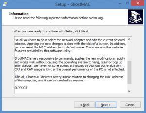 Enlarge GhostMAC Screenshot
