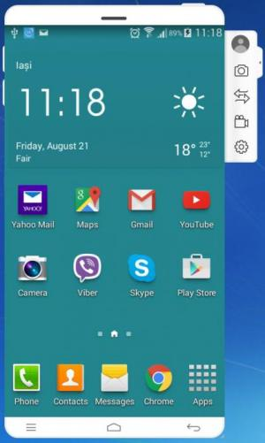 Enlarge Wondershare MirrorGo Screenshot