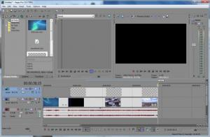 Enlarge Sony Vegas Pro Screenshot