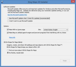Enlarge Bing Maps 3D Screenshot