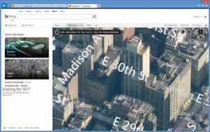 Enlarge Bing Maps 3D Screenshot