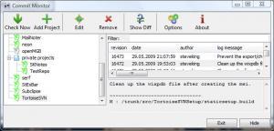 Enlarge CommitMonitor Screenshot