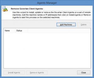 Enlarge Goverlan Remote Control Screenshot