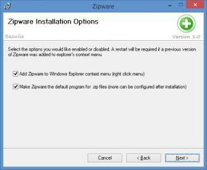 Enlarge Zipware Screenshot