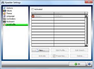 Enlarge Xpadder Screenshot