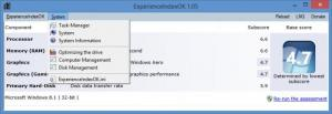 Enlarge ExperienceIndexOK Screenshot