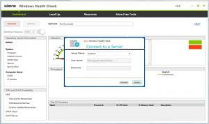 Enlarge Windows Health Check Screenshot