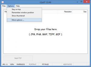 Enlarge i2pdf Screenshot