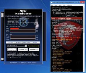 Enlarge MSI Kombustor Screenshot